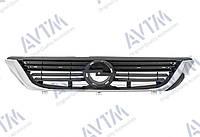 Решетка радиатора Opel Vectra B 1999-2002 черн./хром.