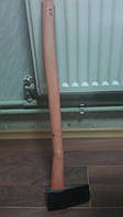 Колун 2кг, с красной деревянной ручкой 70см ТОКМАК, фото 1