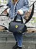Женский спортивная сумка Puma Ferrari, синяя, фото 2
