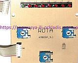 Плата индикации Rota б/у с адаптером (6 мес, без ф.у, Турция) котлов Demrad Aden, арт. PU46T2, к.з. 0821/1, фото 3