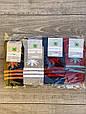 Жіночі шкарпетки патіки бавовна Montebello з листком марихуани і смужками 35-40 12 шт в уп мікс 4 кольорів, фото 4