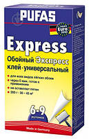 Клей для обоев Pufas Euro 3000 Express 200 г Бесцветный