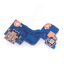 Плата USB с кнопкой включения Samsung Rv513 Rv515 Rv520 ( BA92-07488A ) бу