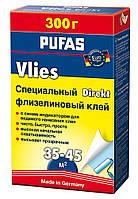 Клей для обоев Pufas euro 3000 флизелиновый 200 г