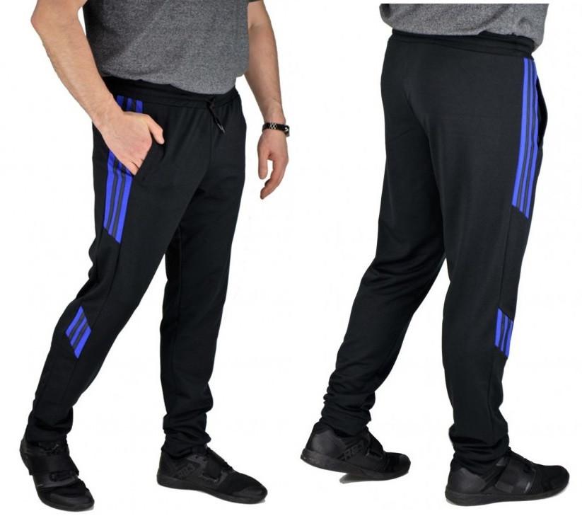 Спортивные штаны мужские трикотажные спорт брюки, черные