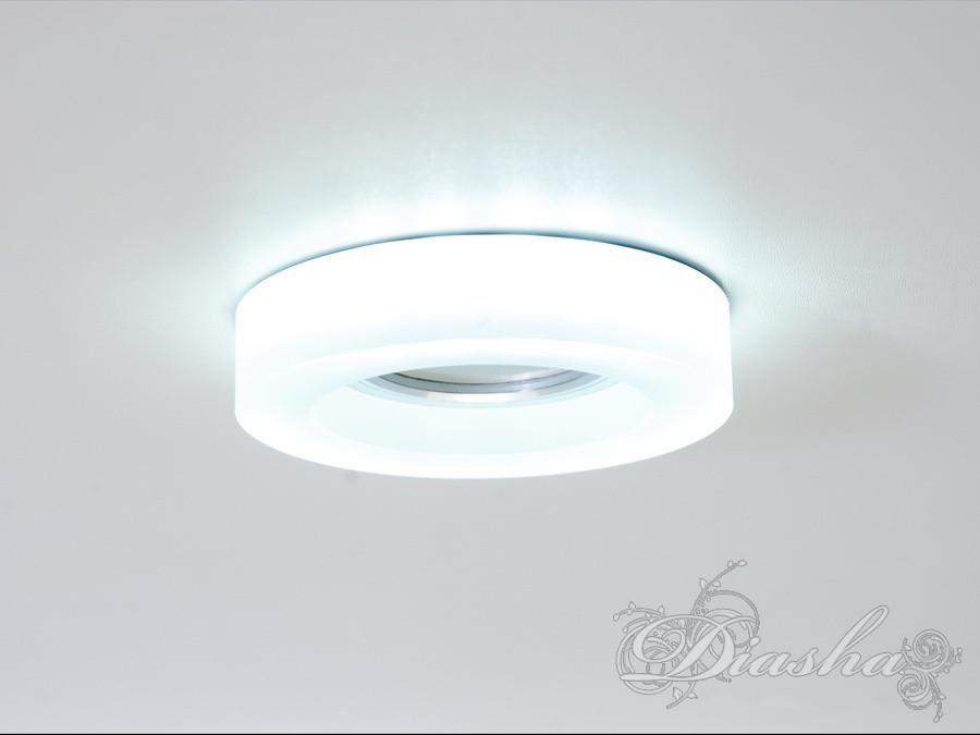Матовый точечный светильник с подсветкой 6018F