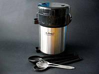 Термос для пищи А-Плюс 5518 нержавеющая сталь объём 2 л., фото 1