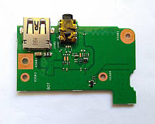 Додаткова плата USB, Audio, Asus X553, RF515m, R515m X453 (69n0rlb10a00-01) бо
