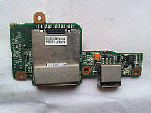 Доп. плата Fujitsu siemens amilo Pi 2530 2540 2550 Плата USB, кардридер (35gmp5500-10 , 35GMP5500-C0) бу