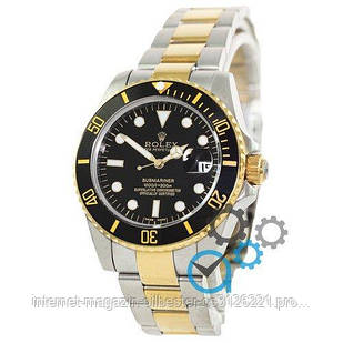 Rolex Submariner AAA Date Silver-Gold-Black