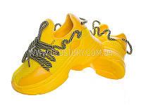 Женские легкие кроссовки (желтые)