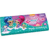 Краски акварельные 12 цветов Shimmer&Shine Kite картон уп SH18-041