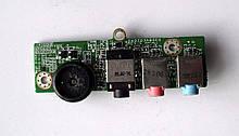 Acer Aspire 4220 4520 4220G 4520G Плата аудіо (da0z03ab6e0) бо