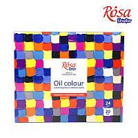 Набор масляных красок 24x20мл, ROSA Studio
