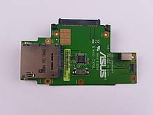Asus K50 K40 K60 K41 X5 Плата кардрідер, SATA Конектор HDD (60-NVKCR1000-D03) бо