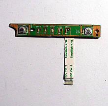 Доп. плата Dell XPS M1330 M1318 PP25L Плата кнопка включения ( 48.4c304.011 ) бу