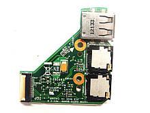 ASUS Eee PC 1225B, 1225C Плата USB, audio (1225B AUDIO BOARD REV: 2.0, 69NA3LA11C01-01 60-0A3LAU1000-C01) бо