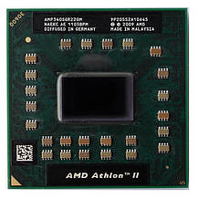 Процесор для ноутбука S1GEN4 AMD Athlon II P340 2x2,2Ghz 1Mb Cache 3200Mhz Bus бу