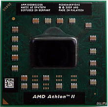 Процессор для ноутбука S1GEN3 AMD Athlon II M300 2x2,0Ghz 1Mb Cache 3200Mhz Bus бу