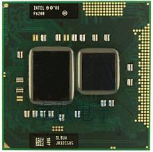 Процессор для ноутбука G1 Intel Pentium P6200 2x2,13Ghz 3Mb Cache 2500Mhz Bus бу