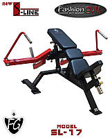 Тренажер для грудных мышц (сведение под углом лежа) SL-17