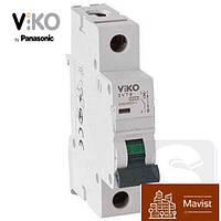 VIKO 4VTB-1C10 автоматический выключатель однополюсный, 1P,10A,4,5кА