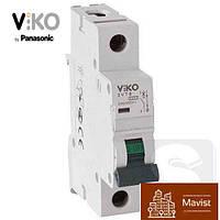VIKO 4VTB-1C16 автоматический выключатель однополюсный, 1P,16A,4,5кА