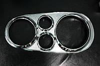 Volkswagen Golf 4 1996-2003 Накладки на фары очки V2 (пластик) 2шт