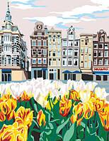 Набор, техника акриловая живопись по номерам, ''Улочки Голландии'', ROSA START