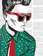 Набор, акриловая живопись по номерам, ''Hipster'', ROSA START