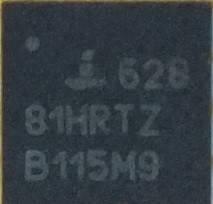 ШІМ isl62881hrtz