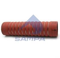 Патрубок интеркулера DAF 95XF (100ммx405mm)