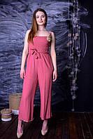 Модный Комбинезон Со Съемной Брошью  в Разных Цветах