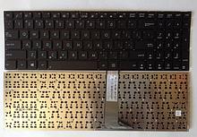 Клавіатура для ноутбука Asus A56, K56, S56, S505, S550, R505 без кадру RU чорна нова