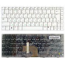 Клавіатура для ноутбука Asus M9, R1, S7, W5, W5000, W6, W7, W7000, Z35 RU біла, нова