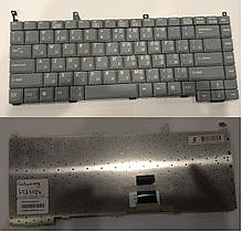 Клавиатура для ноутбука OEM Gateway LT2102h RU пепельная новая