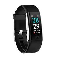 Браслет с тонометром давление крови F07 max пульсоксиметр сатурации кислорода калории смарт часы здоровья