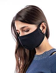 Набір захисних масок Valeo 12 шт Чорні (hub_YGru90009)
