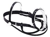 Кавессон для лошади кожаный