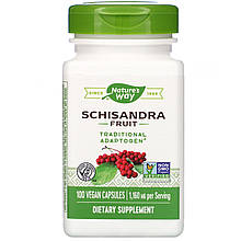 "Лимонник Nature's Way ""Schisandra Fruit"" 1160 мг (100 капсул)"