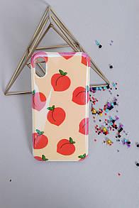Чехлы для iPhone FAMO Чехол для iPhone X-XS Персики красные One size (Hol-23)