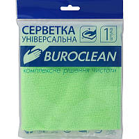 Салфетка микрофибра универсальная Buroclean 30х30 (10200122)