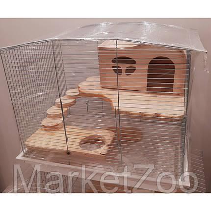 Клетка для крысы,дегу,шиншиллы,морской свинки,кролика.Размер 57*40*47см, фото 2