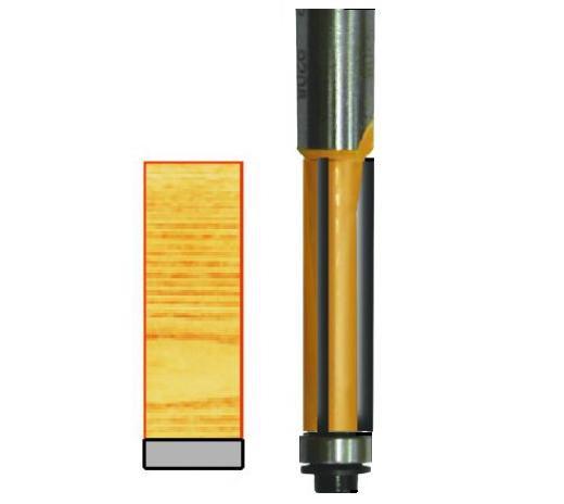 Кромочные прямые фрезы 10650-10653 (3 режущих кромки)