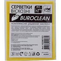 Салфетки вискозные Buroclean 30х38см 3шт (10200102)