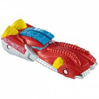 Игрушка Детская Машинка Молниеносные половинки красная Хот Вилс Hot Wheels Split Speeders Ripped Robot Mattel