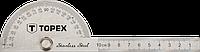 Акция! Угольник с линейкой TOPEX, нержавеющая сталь (31C700) [Скидка 3%, при условии 100% предоплаты!]