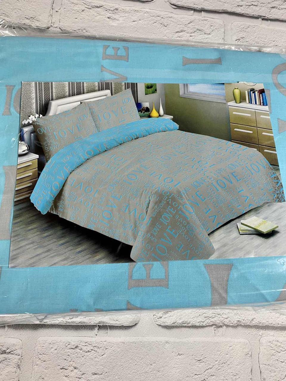 Постельное белье голд бязь, 200×220 евро