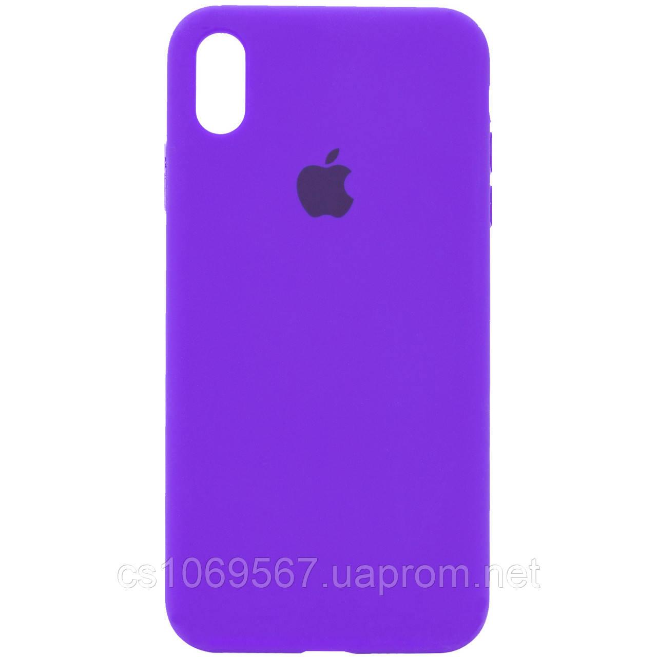 "Чехол Silicone Case Full Protective (AA) для Apple iPhone X (5.8"") / XS (5.8"")"