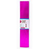 Бумага гофр. металл. пурпур. 20% (50смx200см)